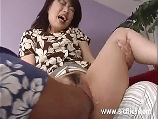 Asian girl brutally fisted till she screams in orgasm