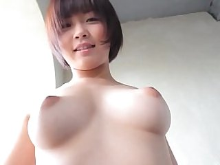 Mana Sakura strips stark naked and poses in ways that best highlight her incredible natural Japanese body including hairy busy and puffy nipples in this softcore image video via ZENRA