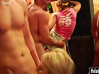 Perverted beauties like to fuck at the party