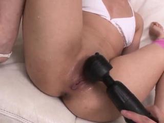 Naked milf Kotomi Asakura fucked hard with toys