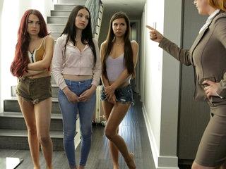 Jade Baker & Milana Ricci & Sabina Rouge in Girls Left Alone - Nubiles-Porn