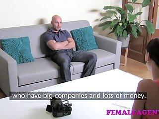 FemaleAgent HD Big cock casting