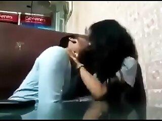 Indian College teens fun in classroom