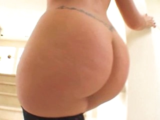 Olivia anal masturbation and analsex in stockings
