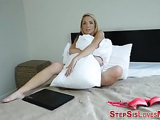 Pov amateur stepsister blows and bangs dong doggystyle in hd